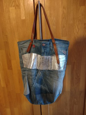 Replay Shopper bleu azur-gris ardoise