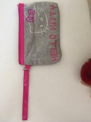 H&M Borsellino grigio-rosa