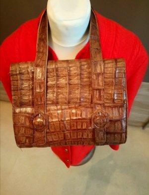 Tasche Krokodilleder Vintage
