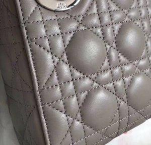 Tasche Leder mini Lady bag Crossbody Stickerei