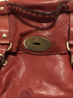 Tasche Leder mulberry
