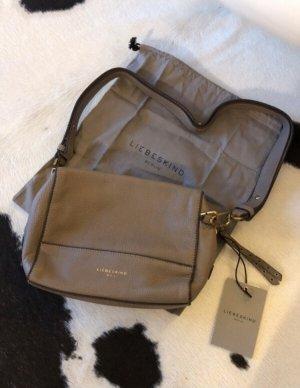 Tasche Liebeskind Berlin neu Handtasche Umhängetasche shopper Blogger braun Mode Fashion Clutch
