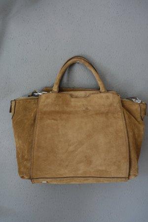 Tasche Liebeskind, braun, Leder, neuwertig, Umhängetasche, Henkeltasche
