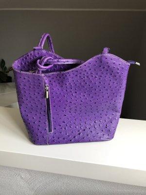 Tasche, lila, wie neu