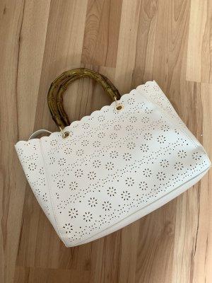 Tasche Lochstickerei Zara