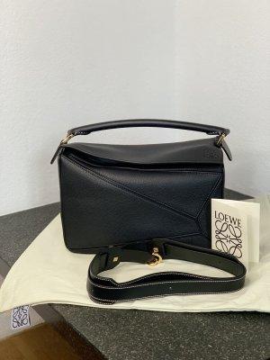 Tasche Loewe Puzzle Medium Schwarz