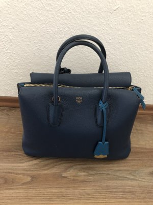 MCM Handtas donkerblauw