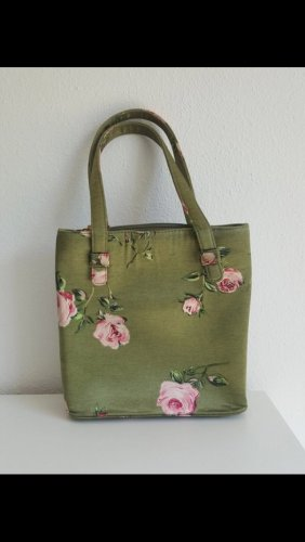 Tasche mit Blumenmuster