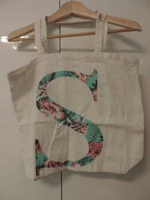 Tasche mit Buchstaben S