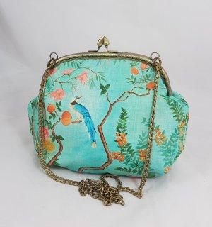Tasche mit Kette vintage inspiriert staubgrün