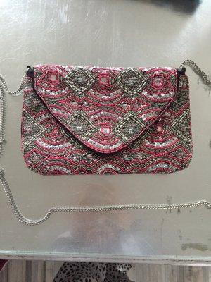 Tasche mit Perlen -Handmade