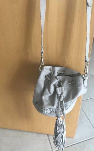 H&M Sac seau gris clair