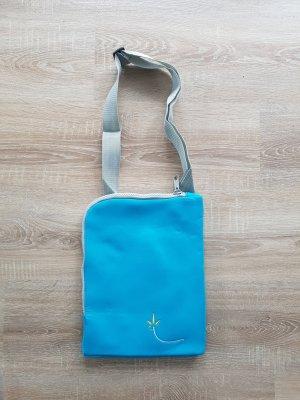 Funda para portátil azul claro