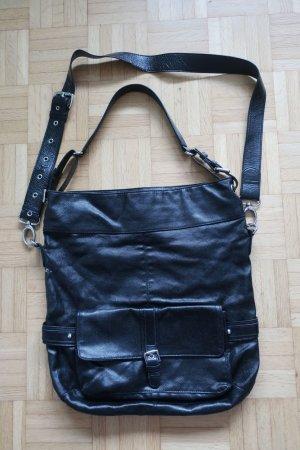 Tasche mit Umhängeriemen und kurzem Henkel (abnehmbar)