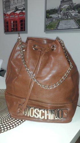 Moschino Sac porté épaule brun