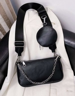 100% Fashion Bolso negro