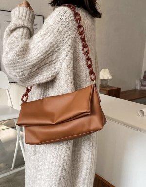 100% Fashion Handtas bruin