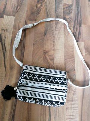 Pieces Handbag white-black