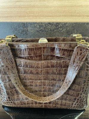 Tasche Reptilprägung Vintage