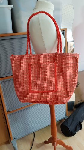 Tasche rot orange aprikot