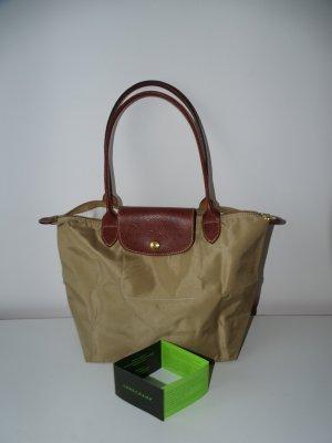 Tasche Schultertasche Le Pliage Shopper S Beige Camel (NP: 75€)