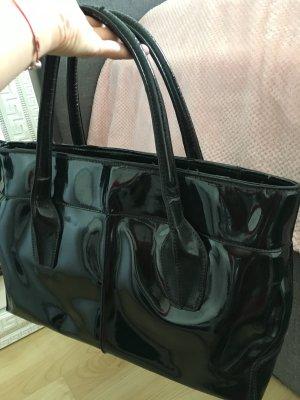 Tasche schwarz lack