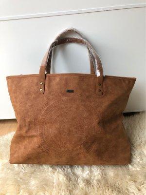 Roxy Shopper brun-cognac