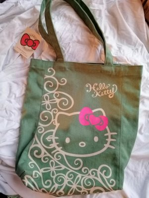 Tasche. Shopper. Canvas. original . HelloKitty. Neu.Mit Etikett.