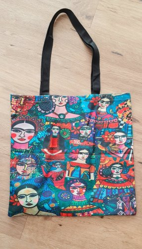 Frida Kahlo Torebka materiałowa Wielokolorowy