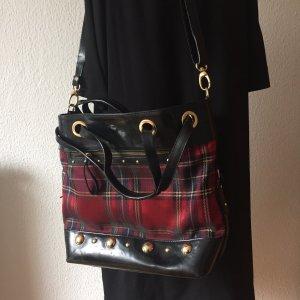 Tasche/Shopper mit Karo-Muster von Aleanto Collezioni, neu