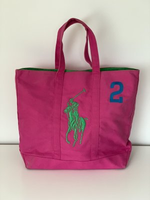 Polo Ralph Lauren Comprador rosa-verde