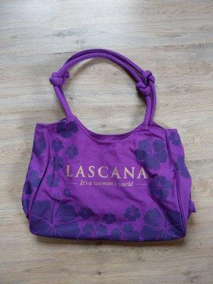 Tasche Strandtasche lila Lascana Neu