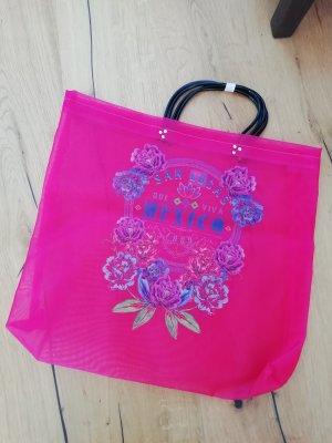 Borsa shopper rosa