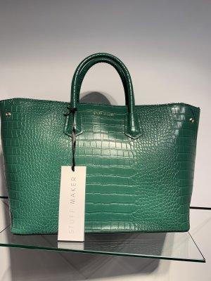 Tasche Stuff maker neu mit Etikett grün