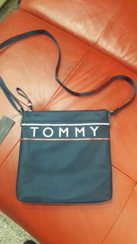 Tommy Hilfiger Canvas Bag dark blue