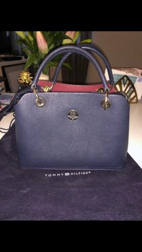 Tommy Hilfiger Handbag gold-colored-dark blue