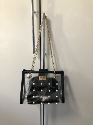 Tasche Umhängetasche Damen mit Perlen