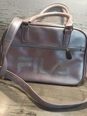 Tasche Umhängetasche Fila rose metalic kaum gebraucht