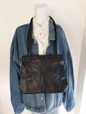 Tasche Umhängetasche Handtasche Bestickt True vintage schwarz Tragetasche clutch rucksack beutel bauchtasche Pullover