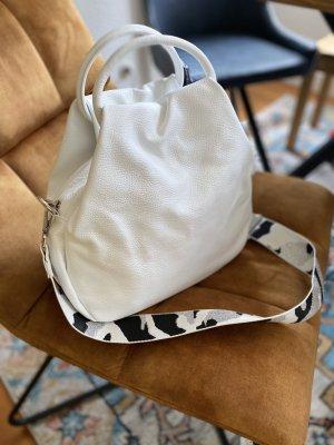 Borse in Pelle Italy Crossbody bag white