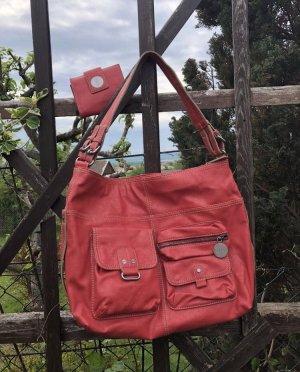 Tasche und Portmonee