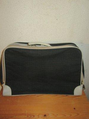Tasche Vintage Reisetasche Retro karriert