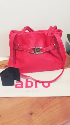 abro Carry Bag red leather