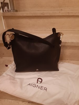 Aigner Pouch Bag black