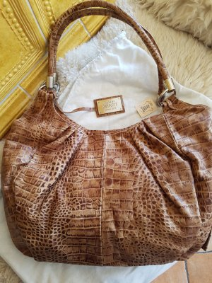 Apart Carry Bag cognac-coloured leather