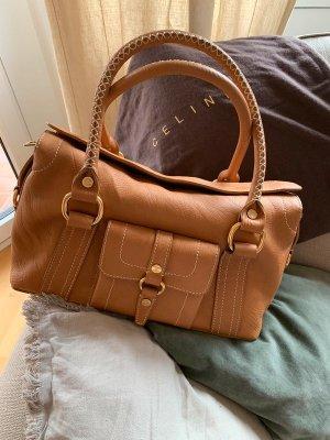 Celine Carry Bag camel leather
