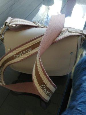 David Jones Crossbody bag oatmeal-dusky pink