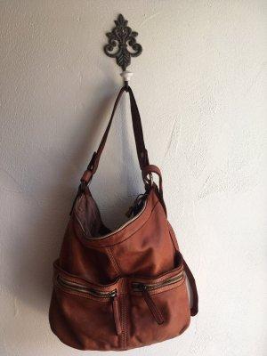 Tasche von FredsBruder in rotbraun echtes Leder