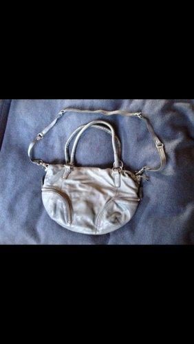 Tasche von FredsBruder in taubenblau echtes Leder