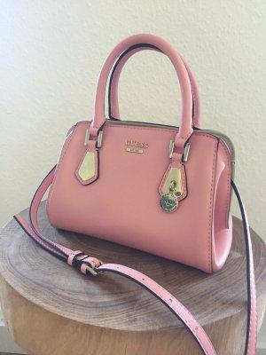 Guess Bolso rosa-color plata